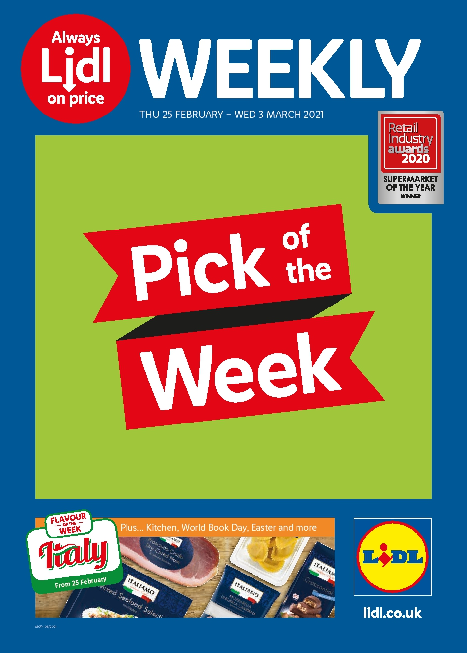 LIDL Offers 25th February - 3rd March 2021 LIDL Leaflet Next Week Preview