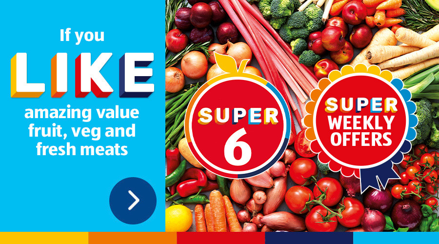 ALDI Super 6 this Week from 19th February 2021