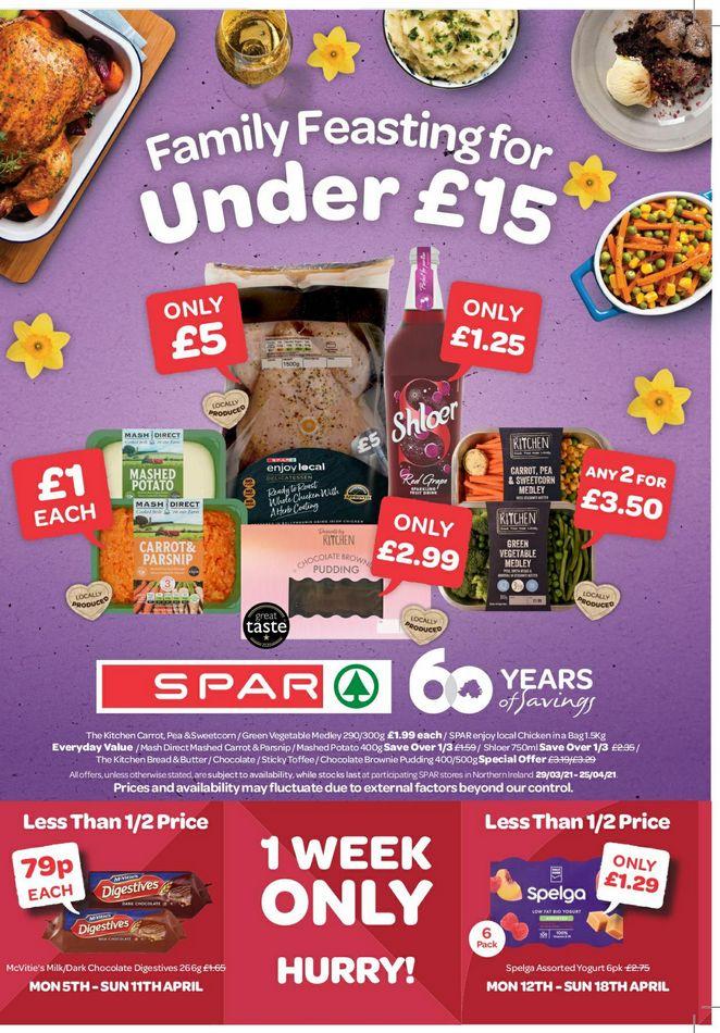 SPAR Offers 29th March – 25th April 2021 SPAR Online