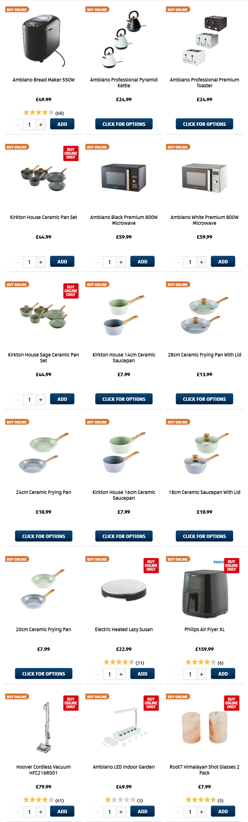 ALDI Sunday Offers Kitchen 28th March 2021