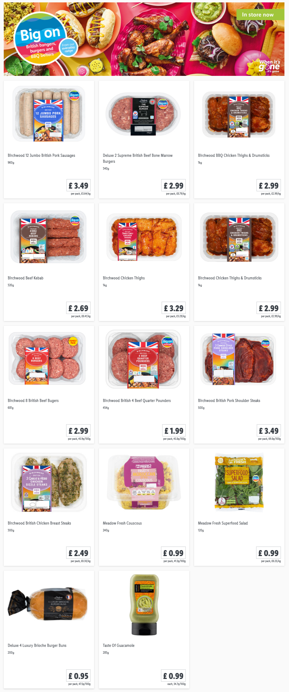 LIDL Offers this Thursday From 8th April 2021 LIDL Summer BBQ