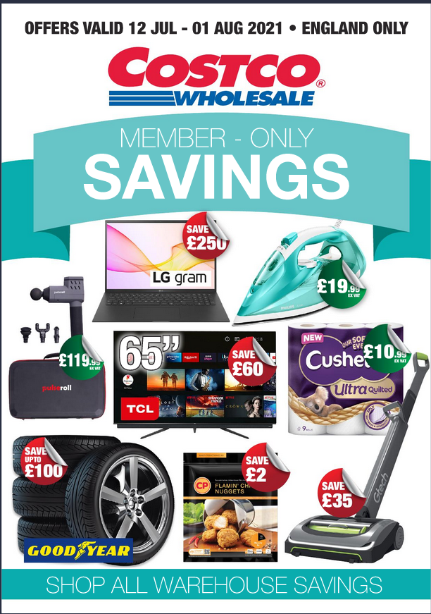 Costco Offers 12th July to 1st August 2021 Costco Online Wholesale