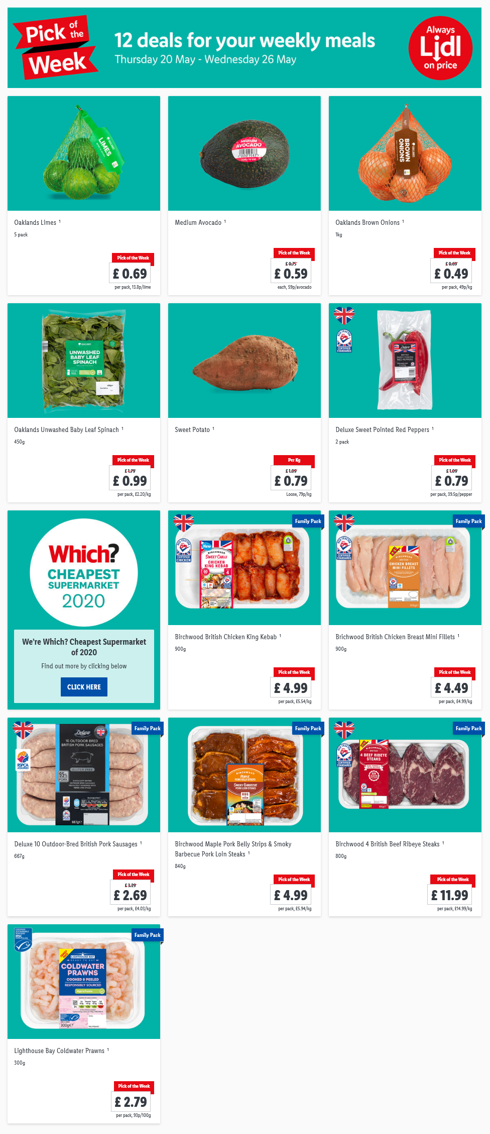 LIDL Pick of The Week 20th May - 26th May 2021 Next Week Preview